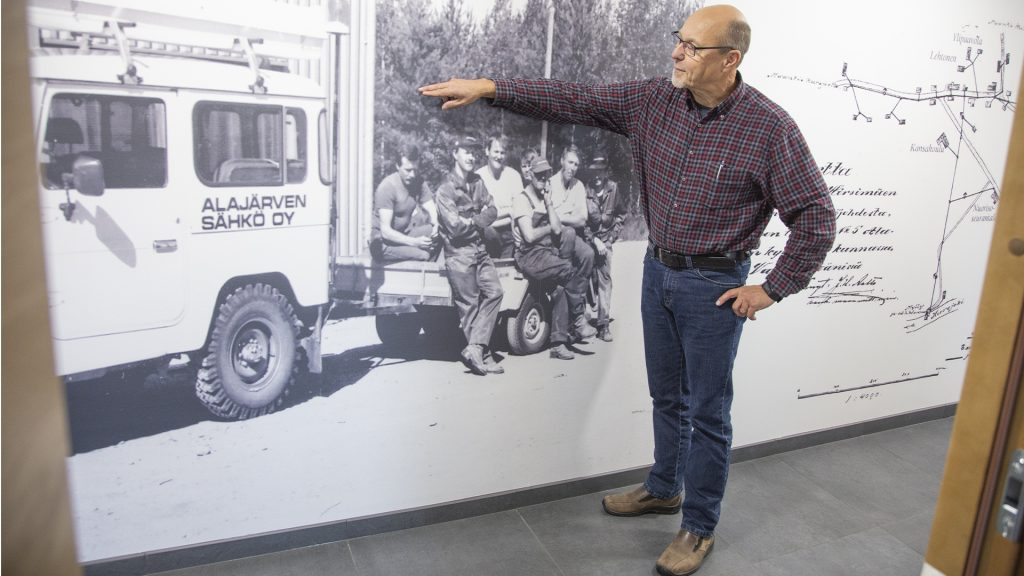 Alajärven Sähkö historia