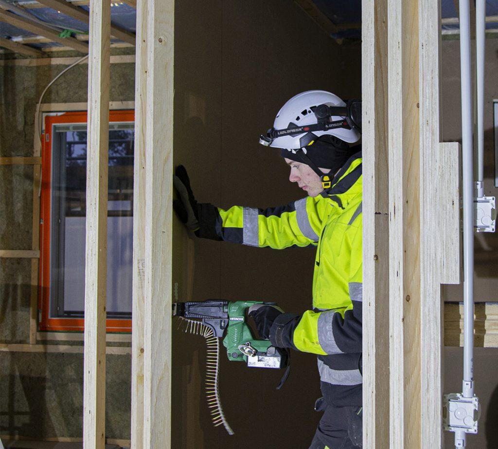 rakennusalan koulutus