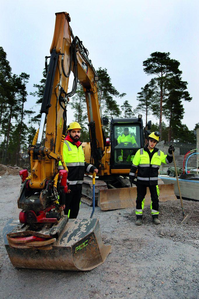 rakennusalan koulutus kaivinkonetyöt