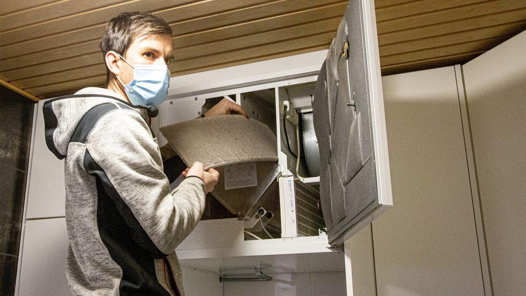 sisäilma puhtaaksi ilmastointilaitteiden puhdistuksella