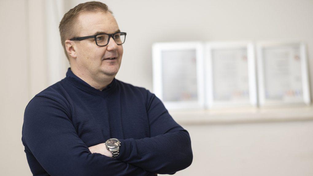 Piccolo Group Oy:n toimitusjohtaja Petri Kuivamäki
