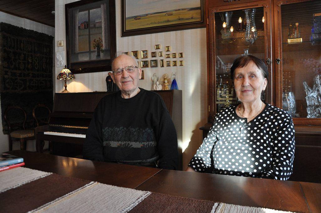 Leo Fräntilä ja vaimo Pirkko