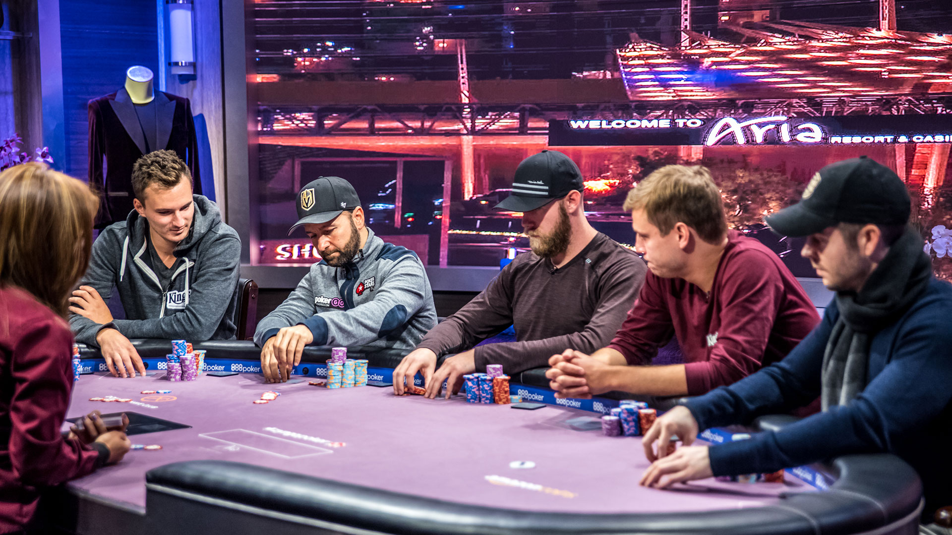 PokerGO Poker Masters Daniel Negreanu Table