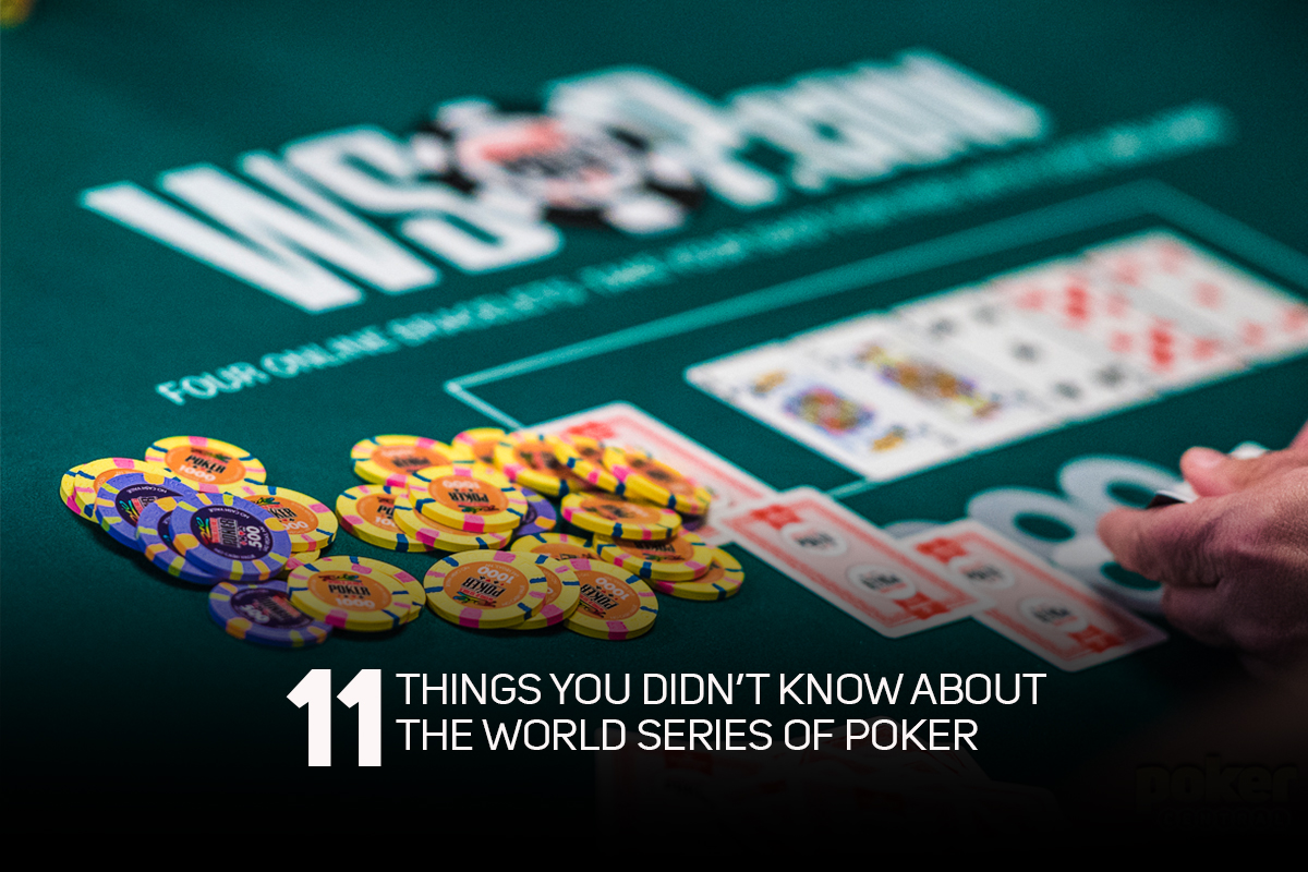 Are you ready for the 2019 World Series of Poker?