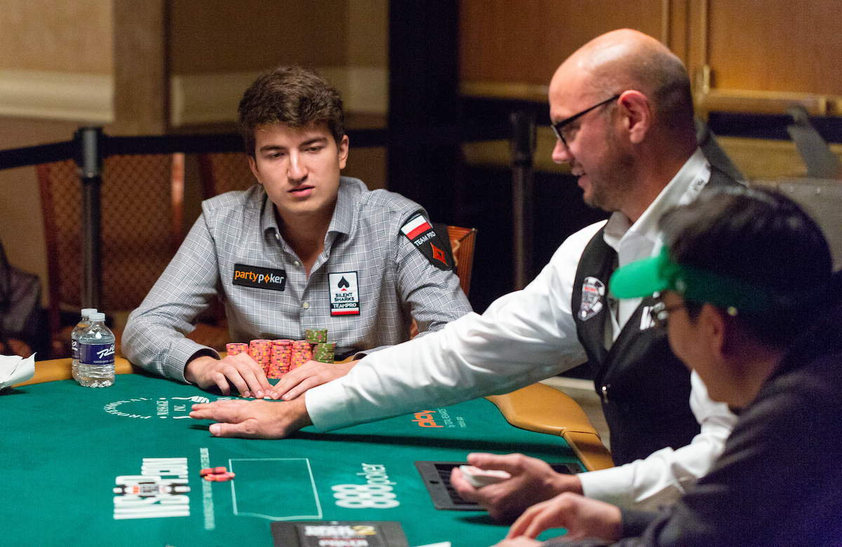 Dzmitry Urbanovich just missed out on his first bracelet, losing heads up to Jay Kwon in the $1,500 Razz event. (Photo: PokerPhotoArchives.com)