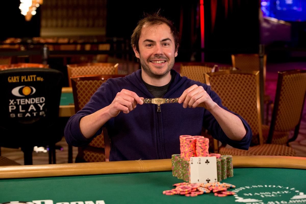 Elio Fox, winner of the $10,000 No Limit Hold'em Super Turbo Bounty. (Photo: PokerPhotoArchives.com)