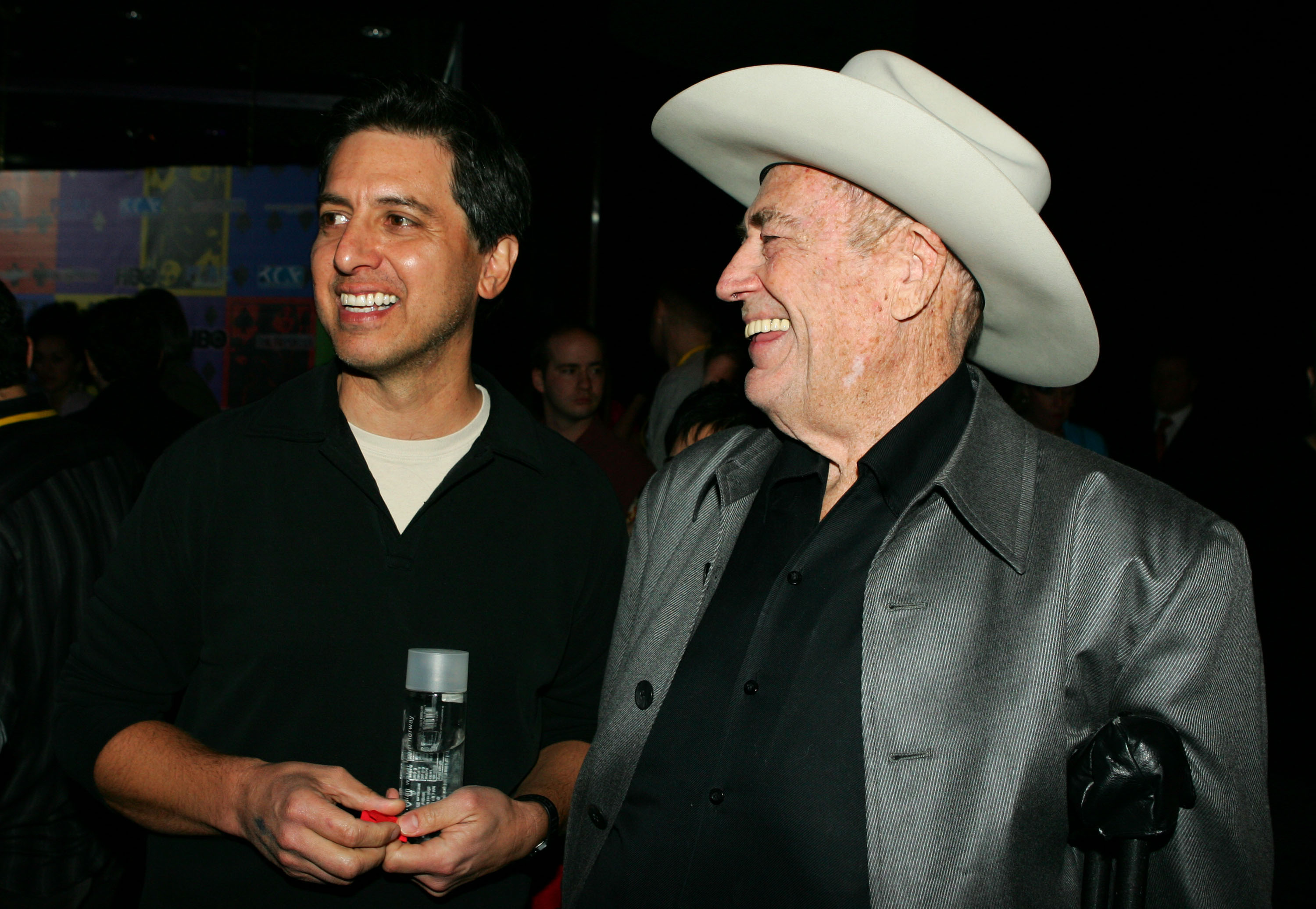 Ray Romano and Doyle Brunson during the 2005 Comedy Festival - Celebrity Poker Tournament at PURE Nightclub at Caesars Palace in Las Vegas. (Photo by Mathew Imaging/FilmMagic)