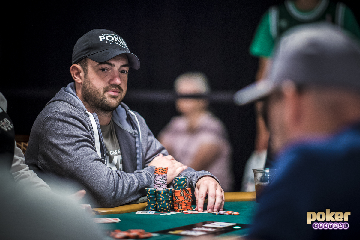 Few players have been under pressure that the Main Event spotlight brings. With ESPN cameras, hoards of media, and spectators watching your every move it can easily become overbearing for anyone. One player in particular that is familiar with it all is 2009 Main Event Champion Joe Cada. For the first time in what seems to be about 3 days, Cada has managed to chip up and sits with an average stack. Easily one of the most dangerous players still in the field, we will see if Cada can pull off the unthinkable and go for a second Main Event title, post poker boom.