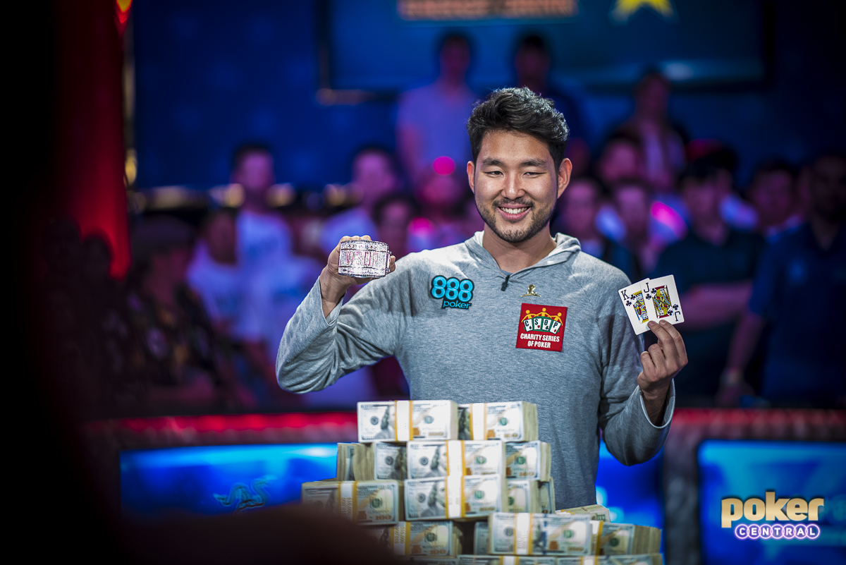 Cynn winners: After a grueling 10 days of poker, including a marathon heads-up battle, John Cynn is your 2018 WSOP Main Event Champion. Cynn, who finished 11th in this event in 2015, will take home a cool $8.8 Million, the WSOP Main Event Bracelet, and his own little piece of poker history.