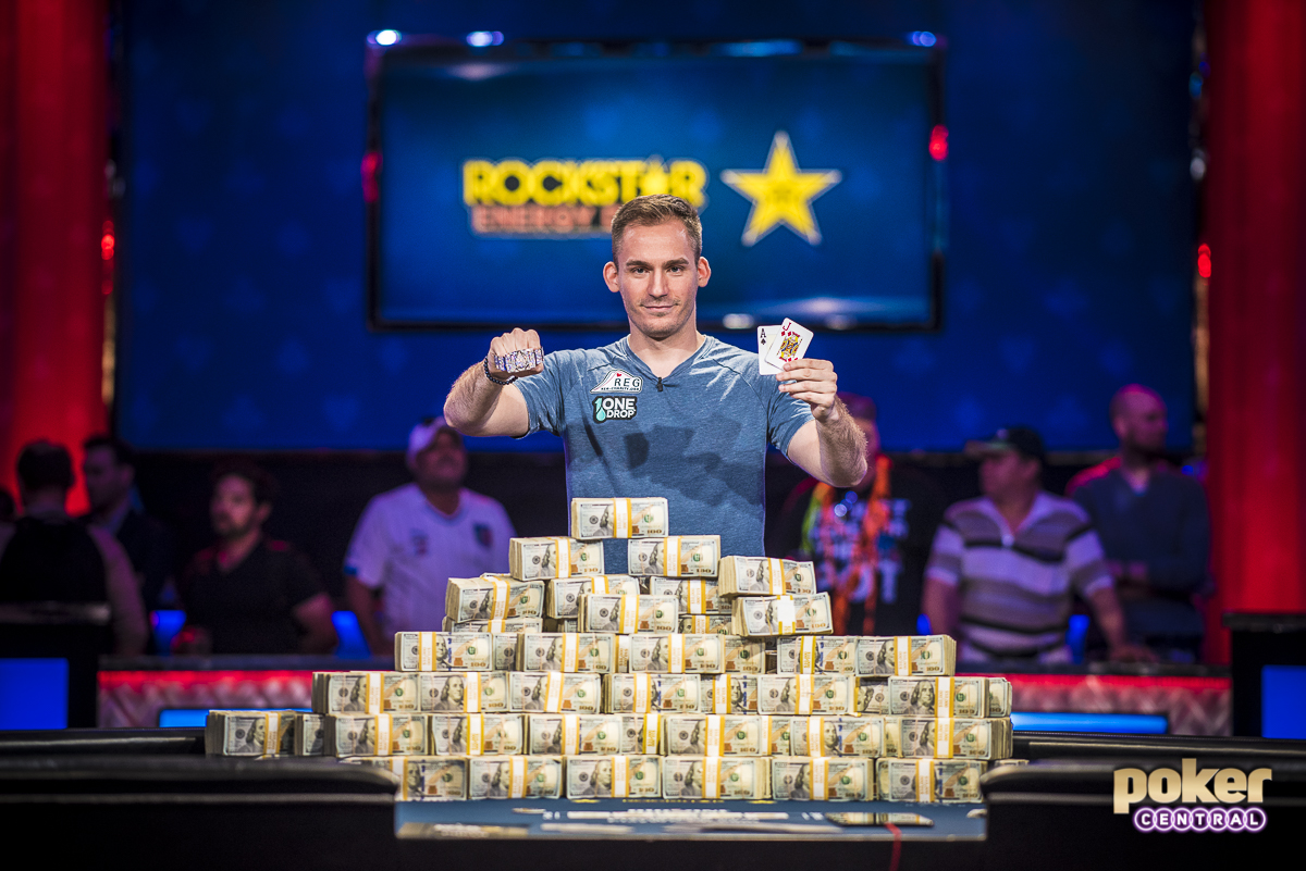 Big One for Bonomo: But when it was all said and done, it was Justin Bonomo who added yet another trophy and $10 million to his insane year. Bonomo has now cashed for more than 9th-place on poker's all-time money list in only seven months of play. After taking this event down, Bonomo now sits first on the game's all-time money list, surpassing Daniel Negreanu after years in the No. 1 spot.