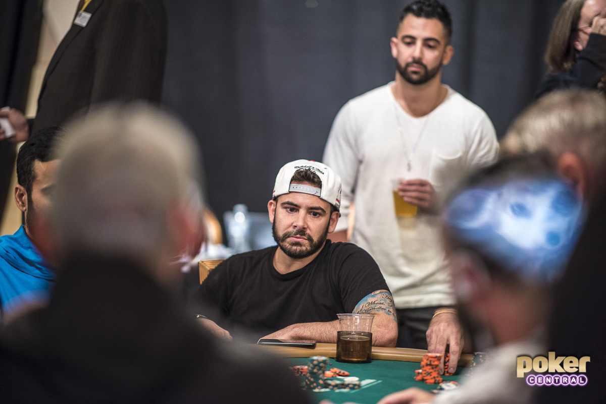 It's rare to see a Massey brother deep in an event without the other one by their side. Tonight in the main was no different. While Aaron was eliminated earlier in the tournament, Ralph had been grinding a short stack for the last 24 hours. The highs and lows of poker can be brutal for even the most seasoned of pros, and the Massey's are known for wearing it on their sleeves. The walk to the payout cage is never easy, but the Massey brothers always seem to be there to lift one another up.