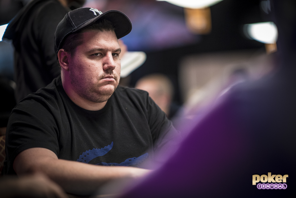 Shaun Deeb at the 2018 World Series of Poker.