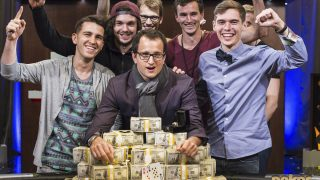 Rainer Kempe wins the 2016 Super High Roller Bowl for $5,000,000