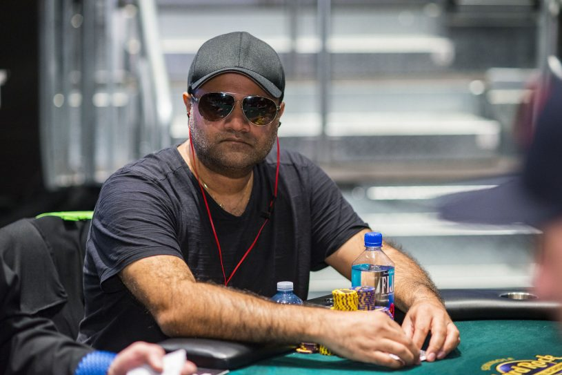 Ami Alibay in action during the WPT Seminole Hard Rock Poker Showdown (Photo courtesy of the WPT: Joe Giron)
