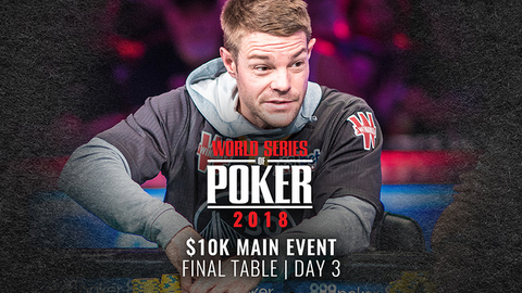 WSOP 2018 $10K Main Event | Final Table | Day 3