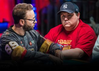 There's no love lot between Daniel Negreanu and Shaun Deeb!
