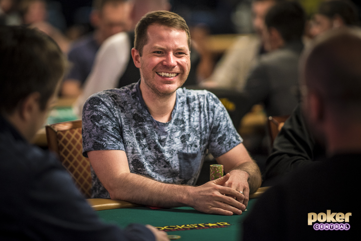 Jonathan Little was all smiles at the 2019 World Series of Poker already!