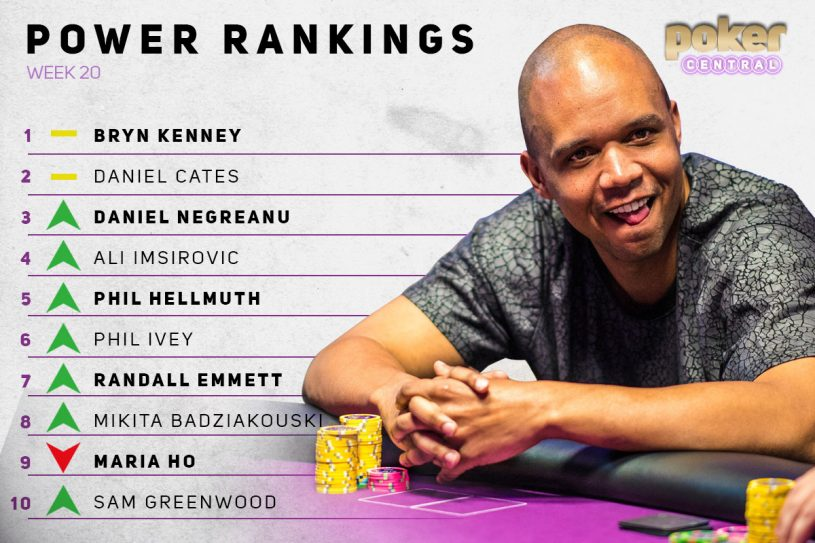 Phil Ivey! He's back!