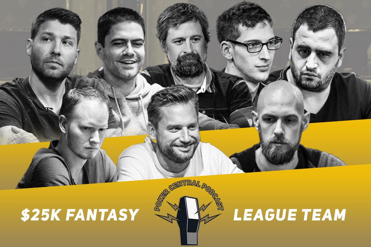 Let us know how you feel about the Team Poker Central Podcast $25k Fantasy Team!