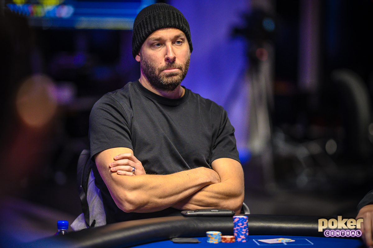 Jeremy Ausmus in action during the U.S. Poker Open.