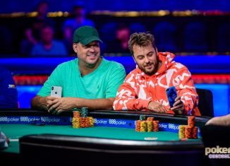 Jean-Robert Bellande and Prahlad Friedman stole the show at the final table of the $10,000 No Limit 2-7 Single Draw event.