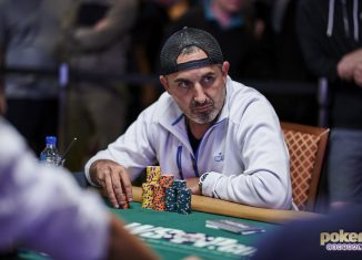 Josh Arieh comes into the final table of the $50k Poker Players Championship as the chip leader.