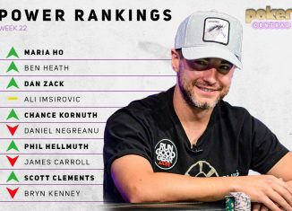 Chance Kornuth makes his debut in the Top 10 after a hot start to the 2019 World Series of Poker with two final tables.