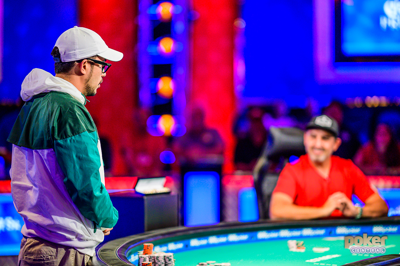 The adrenaline reaches new heights for Phil Hui as Josh Arieh's all-in for his tournament life.