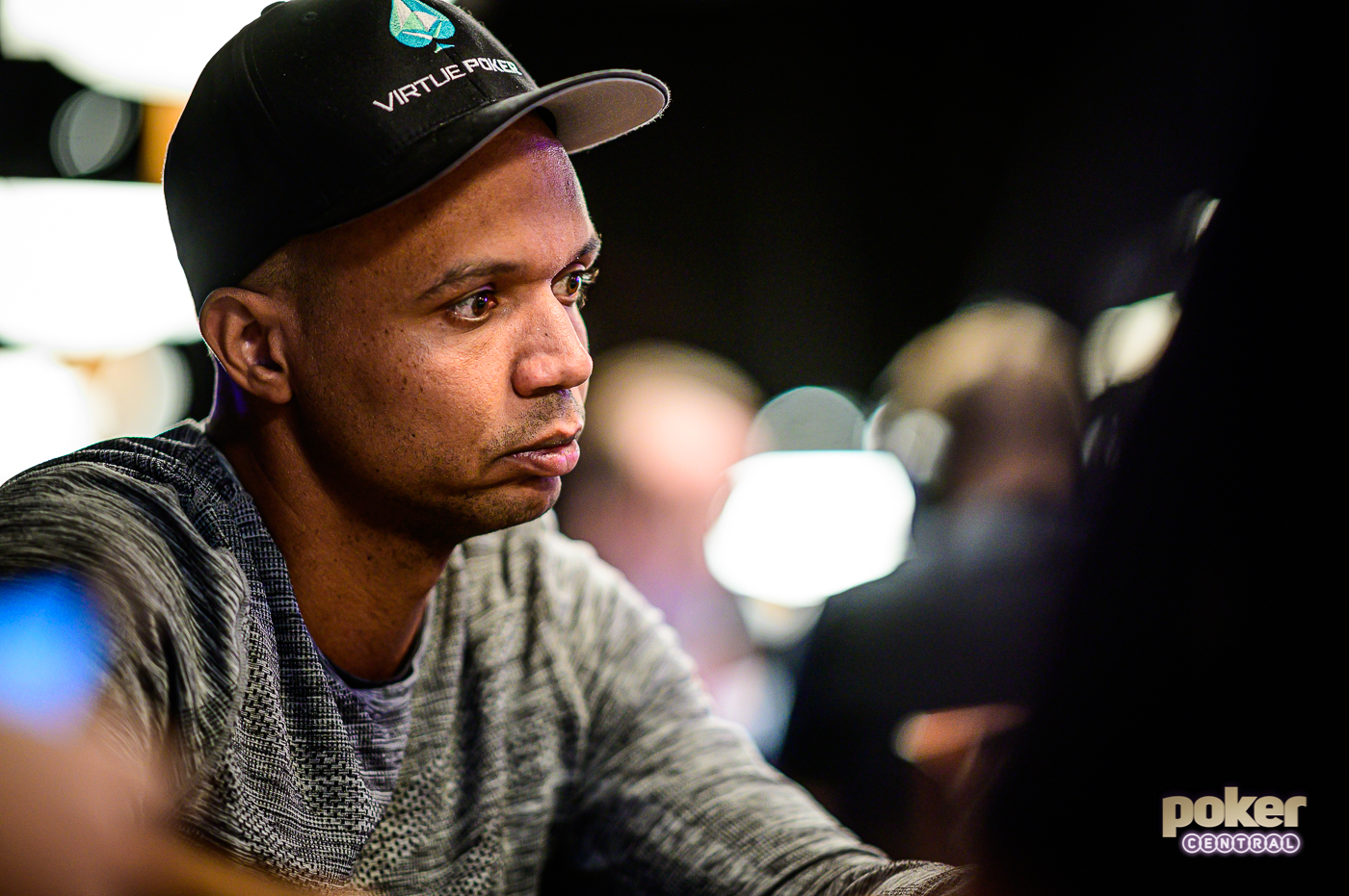 Phil Ivey during his first appearance at the 2019 World Series of Poker.