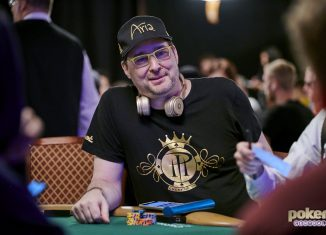 Phil Hellmuth was up to his usual antics in the $50k High Roller at the WSOP.