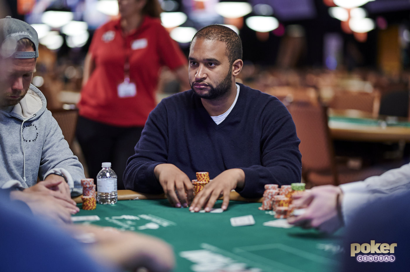 Ismael Bojang has 10 cashes and his first WSOP gold bracelet in 2019 to put himself in contention for Player of the Year.