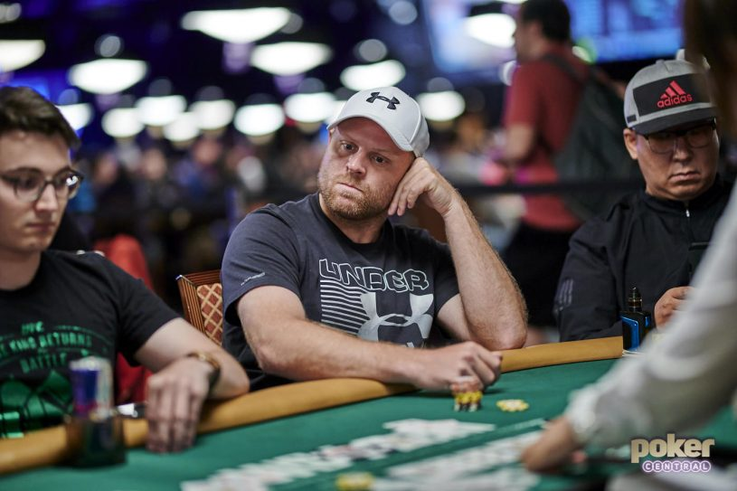 Pittsburgh Penguins forward Phil Kessel in action during the 2019 World Series of Poker.
