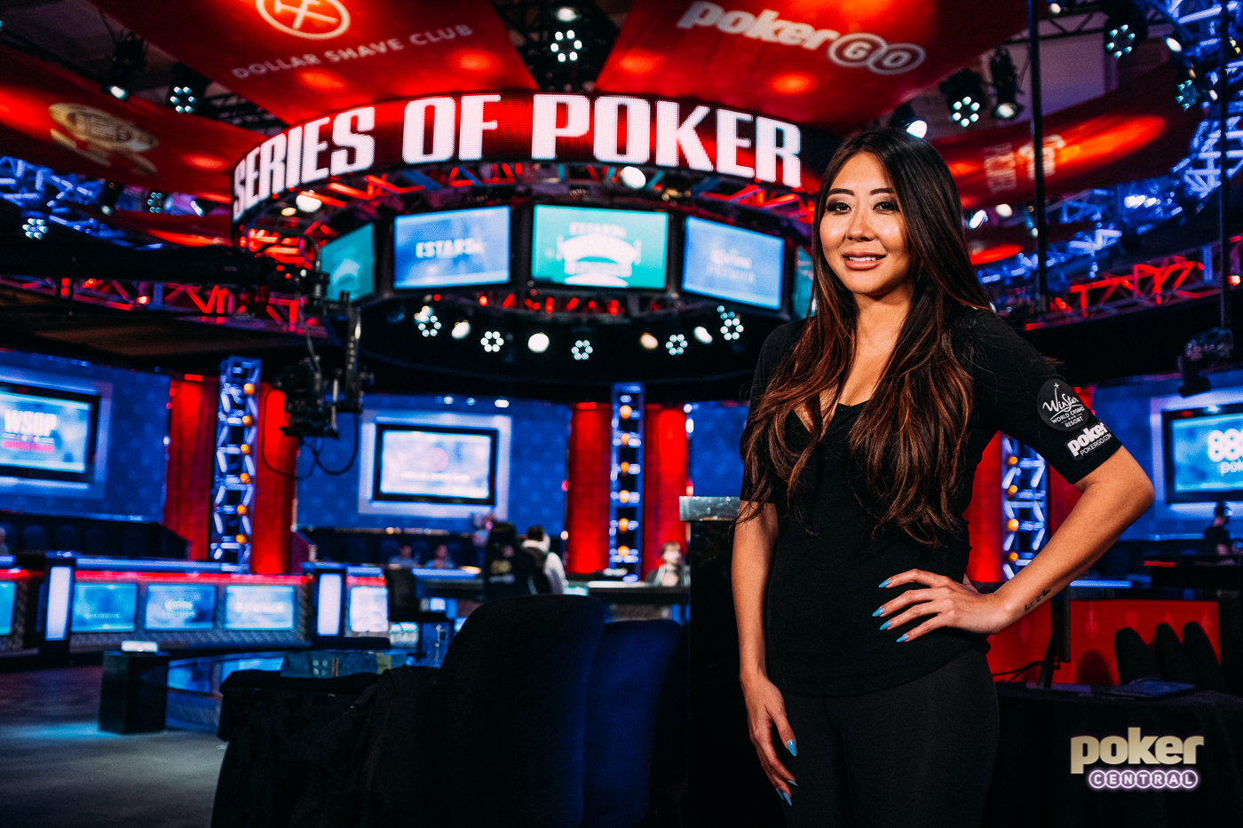 Maria Ho at the 2019 World Series of Poker.