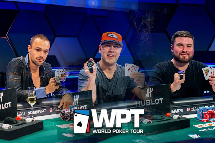 Three champions were crowned on PokerGO as another epic World Poker Tour season concluded at the HyperX Esports Arena in Las Vegas. (Photos: Joe Giron/WPT/PokerPhotoArchives)