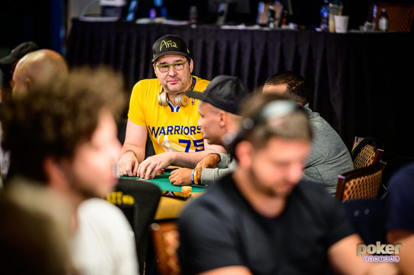Phil Hellmuth is hungry!!
