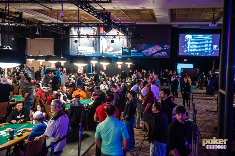 An earthquake struck at the Rio during Day 1c of the World Series of Poker.