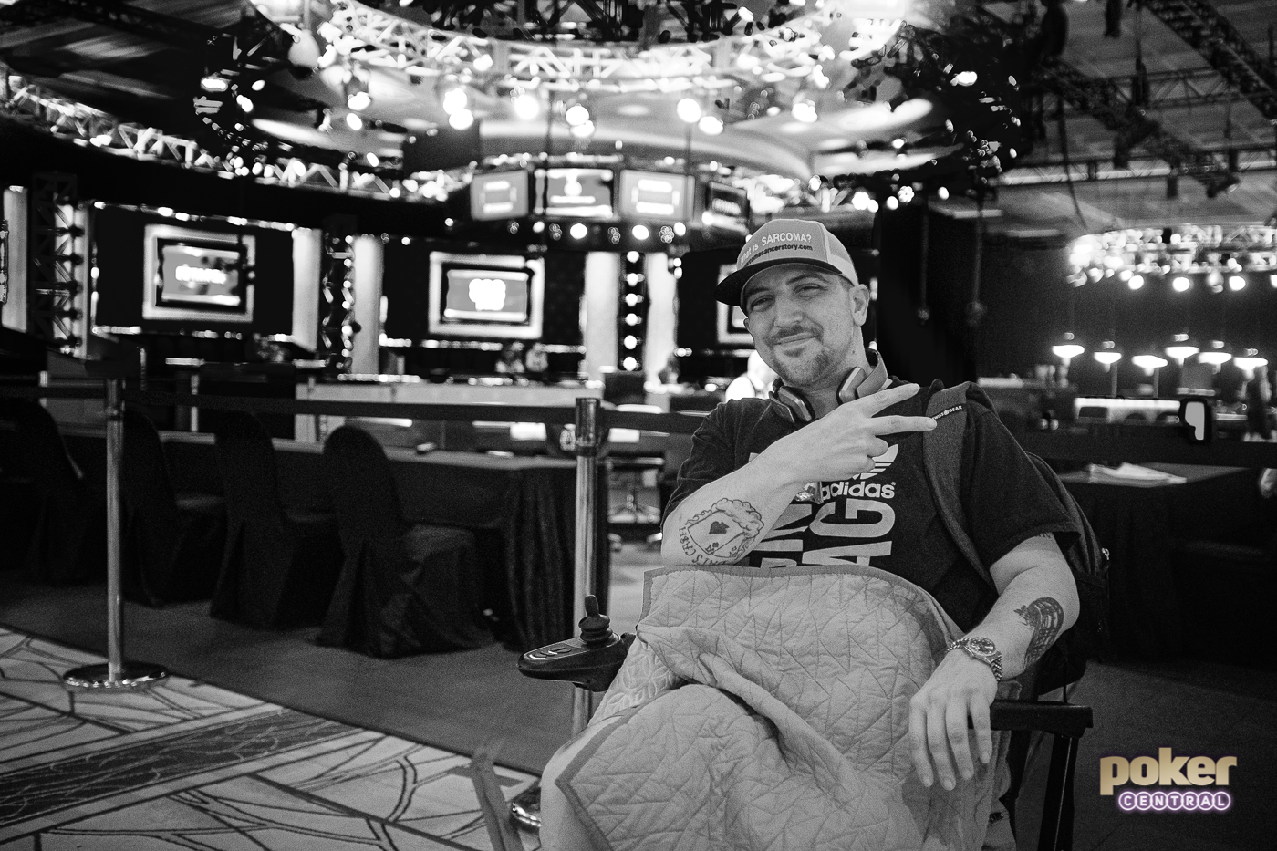 Kevin Roster's poker journey was about more than getting results, it was about raising awareness for sarcoma, a disease that's slowly taking control of his body.