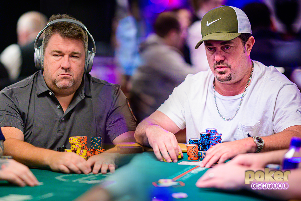 Chris Moneymaker and David Oppenheim have entered the Poker Hall of Fame.