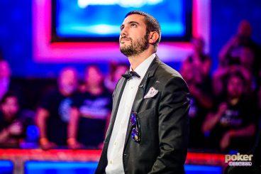 Dario Sammartino's WSOP Main Event Dream Ends in Tears
