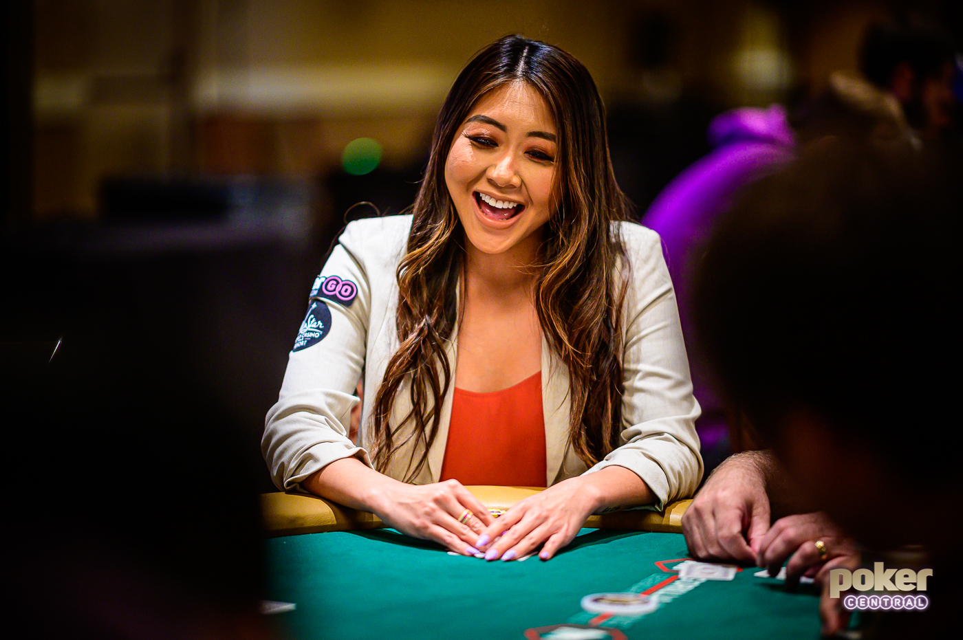 "Maria Ho says: ""Remember to have fun in the WSOP Main Event!"""
