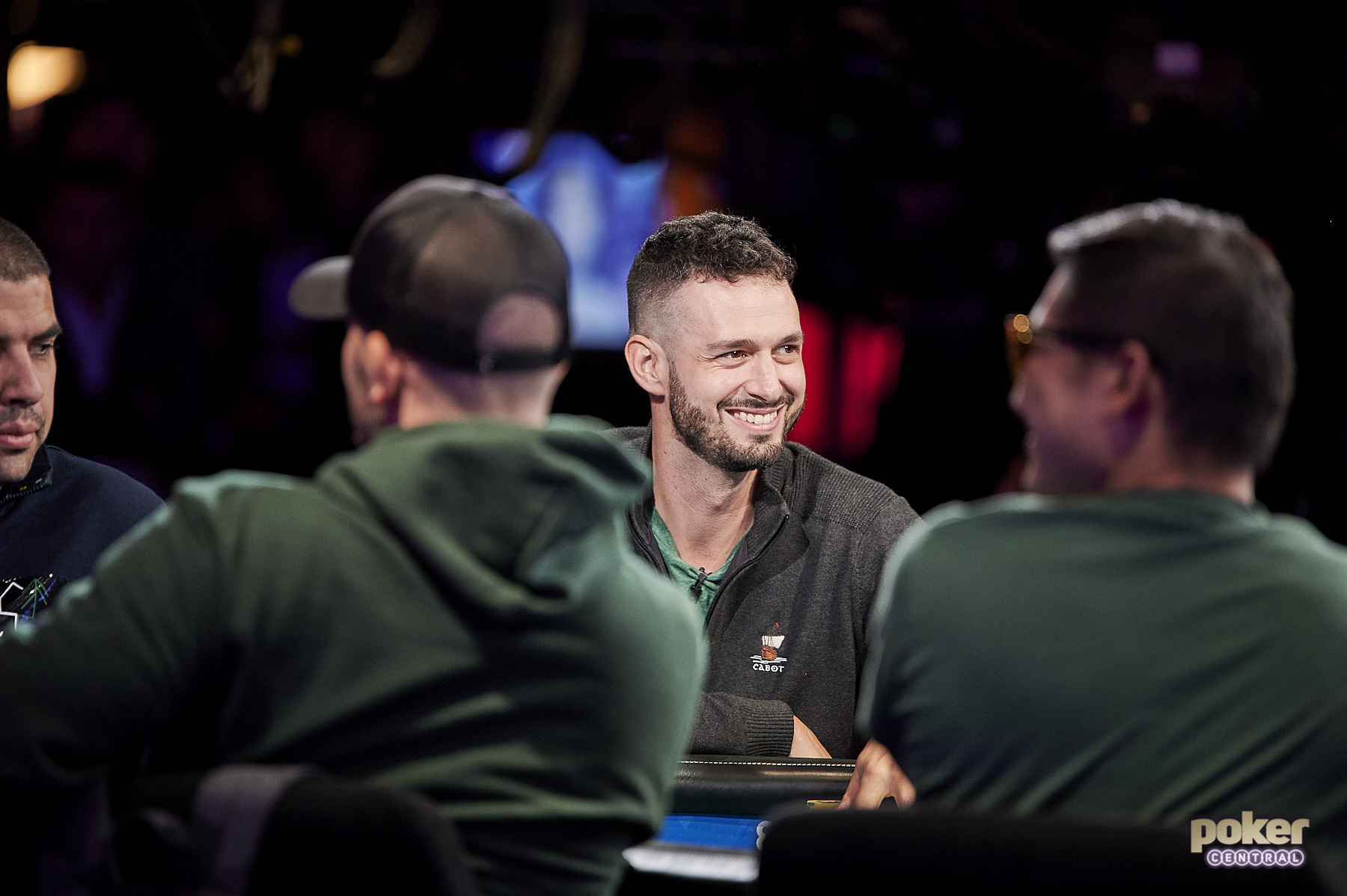 Alex Livingston remains in the hunt with five players remaining in the WSOP Main Event!