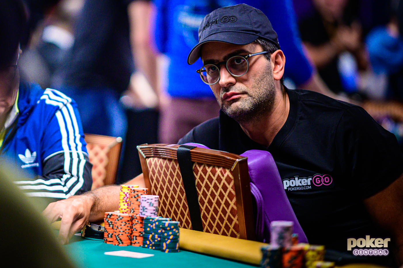 Antonio Esfandiari is running deep in the WSOP Main Event again!