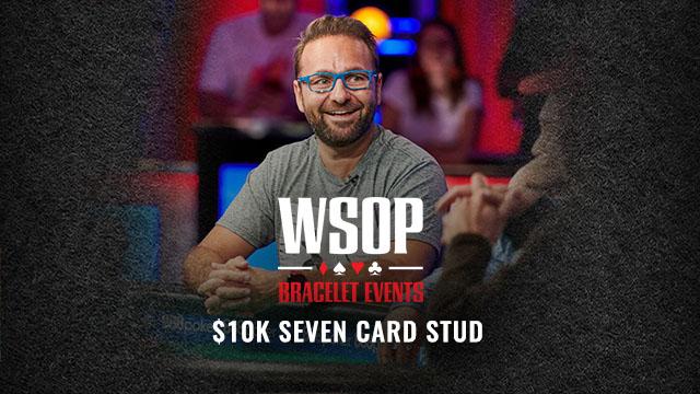 WSOP 2019 $10K Seven Card Stud
