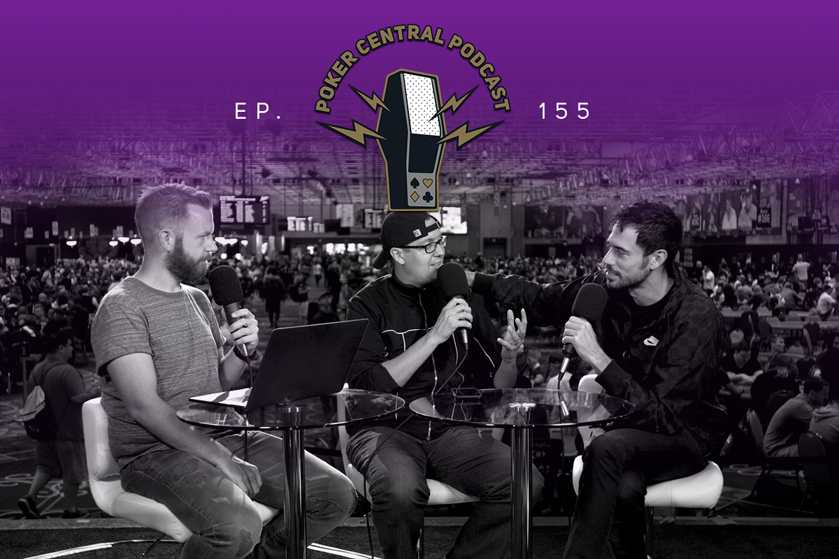 Listen to Nick Schulman right now on the Poker Central Podcast.