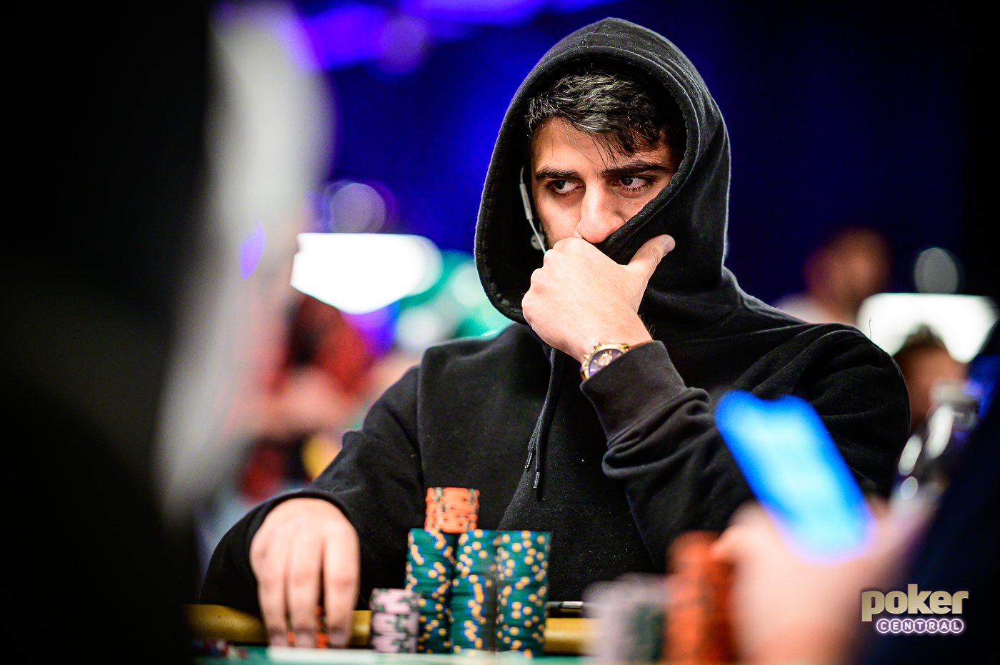 Daniel Hachem was locked in and focused during his six-day WSOP Main Event run.