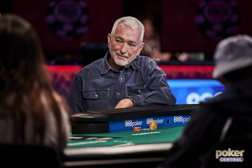 David Heyden during the 2019 World Series of Poker on Day 1b