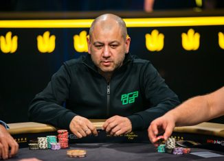 Rob Yong during the Triton Million in London, sponsored by partypoker. (Photo: PokerPhotoArchive/Joe Giron)
