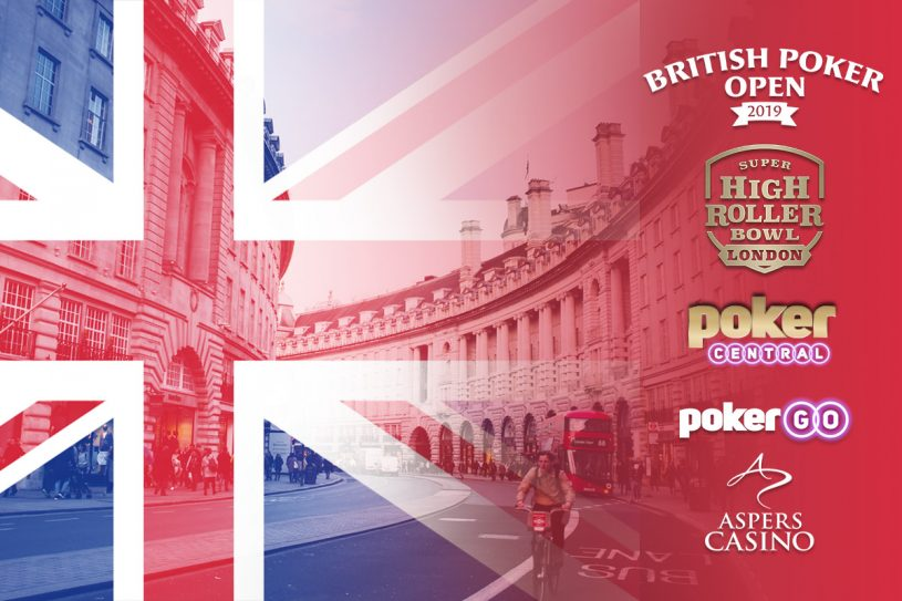 Get ready for the British Poker Open and Super High Roller Bowl London at Aspers Casino!