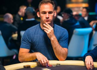 Justin Bonomo finds himself in contention for an astronomic all-time money list lead in the Triton Million. (Photo: PokerPhotoArchive/Joe Giron)