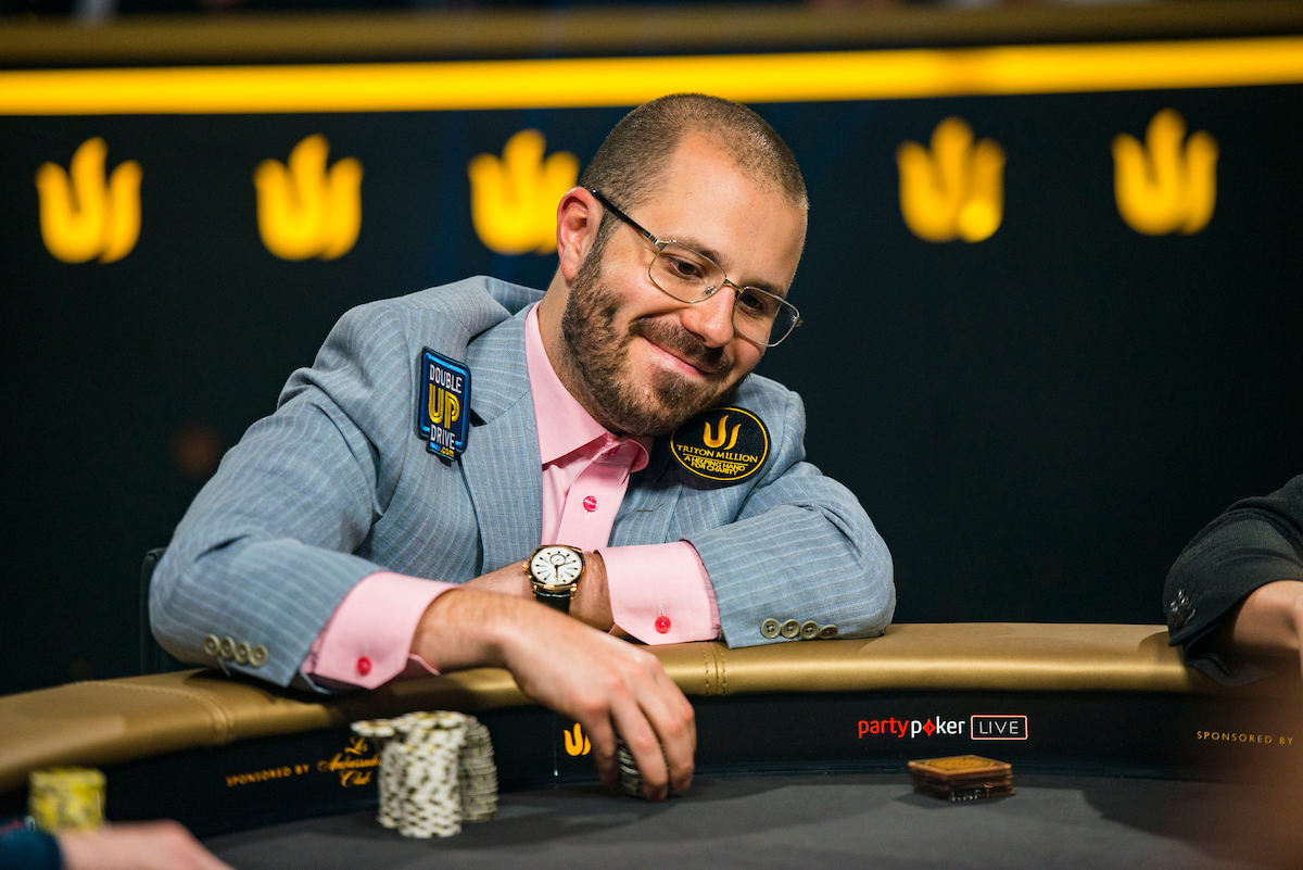 Dan Smith lead for a while but ultimately busted in third place. (Photo: PokerPhotoArchive/Joe Giron)